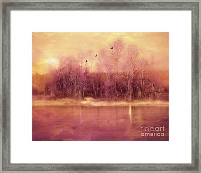 A Magical Moment Framed Print