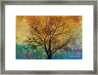 A Magnificent Tree Framed Print by Bedros Awak