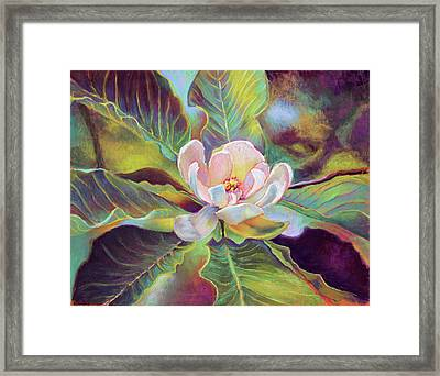 A Magnolia For Maggie Framed Print by Susan Jenkins