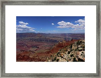 A Marvelous Grand Canyon View Framed Print