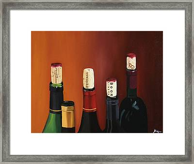 A Maryland Wine Party Framed Print