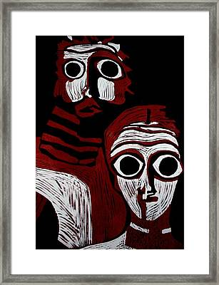A Match Made Framed Print by Patricia Bigelow