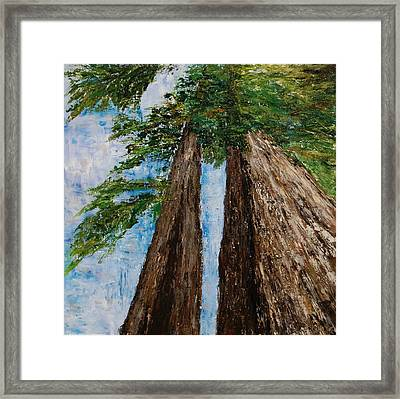 A Matter Of Perspective Framed Print by Deborah Gall