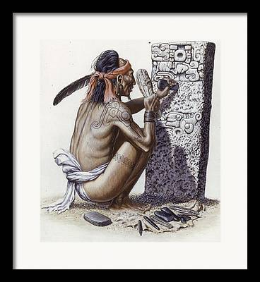 Ethnic And Tribal Peoples Framed Prints