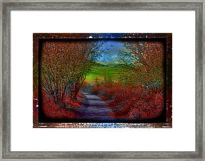 A Memory Of Autumn Framed Print