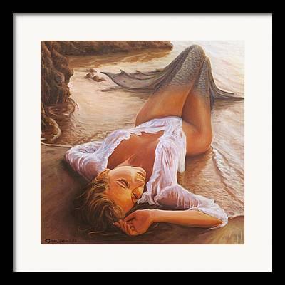 Sensual Paintings Framed Prints