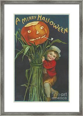 A Merry Halloween Framed Print