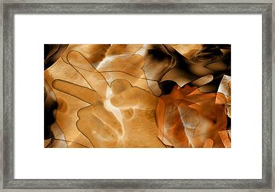 A Message To Authoritarians Framed Print by Abstract Angel Artist Stephen K