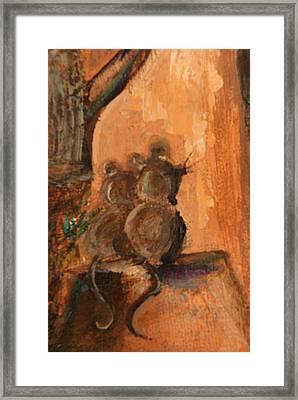 A Mice Night Framed Print