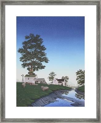 A Mid-summer's Eve Framed Print
