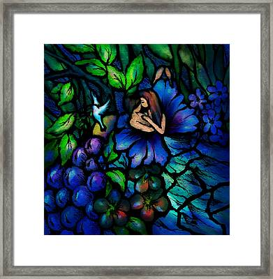 A Midnight Dream Framed Print by Rachel Christine Nowicki