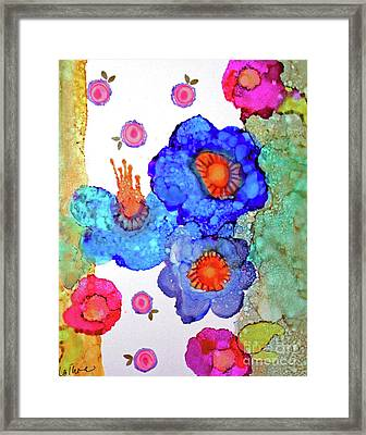 Framed Print featuring the painting A Midsummer Dream II by Priti Lathia