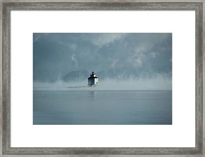 A Might Nippish Framed Print by Tingy Wende
