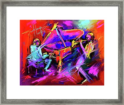 A Million Colors On You Mind Framed Print