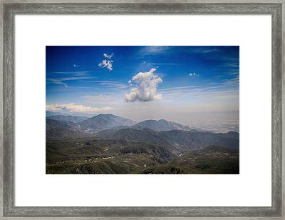A Million Miles With You Framed Print