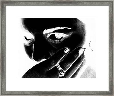 A Million Tiny Truths - Veronica Inverted Framed Print
