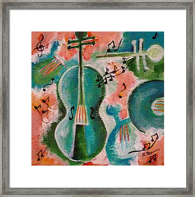 A Minor Framed Print by Teodora Totorean