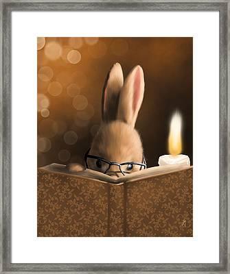 A Mystery Story Framed Print by Veronica Minozzi