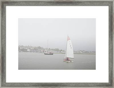 A Misty Morning Framed Print