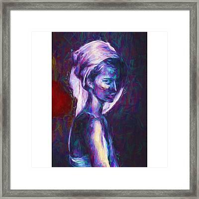 A Model #art #fineart Framed Print