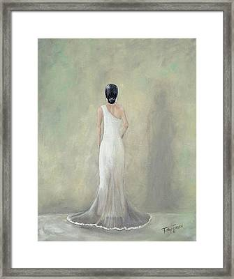 A Moment Alone Framed Print by T Fry-Green