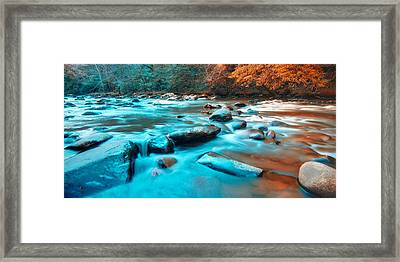 A Moment In The Great Smoky Mountains Framed Print by Rich Leighton