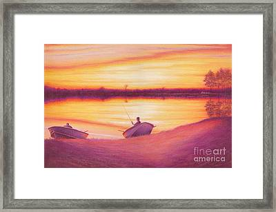 A Moment In Time Framed Print by Elizabeth Dobbs