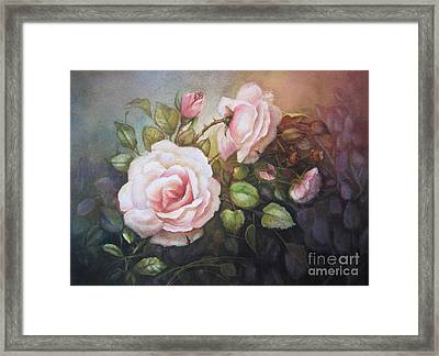 A Moment In Time Framed Print by Patricia Schneider Mitchell