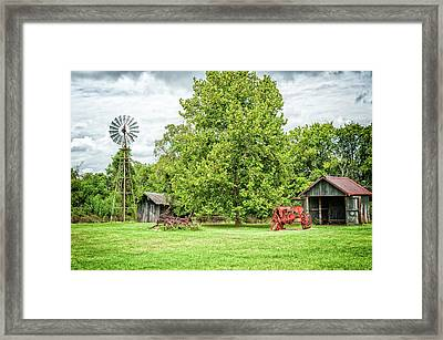 A Moment In Time Framed Print