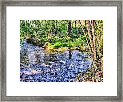 A Moment To Myself Framed Print by Kathy Tarochione