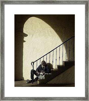 A Moment's Rest Framed Print by Joe Darin
