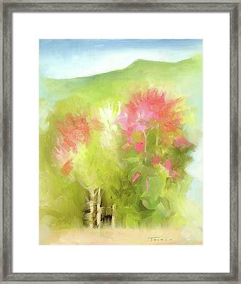 A Mood Of Good Framed Print by Catherine Twomey