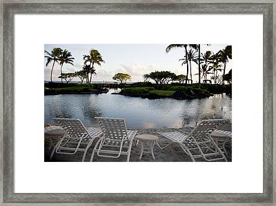 A Morning In Kauai Hawaii Framed Print