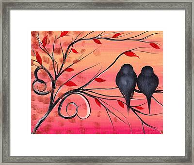 A Morning With You Framed Print