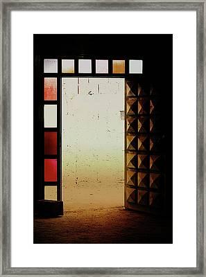 A Moroccan Doorway  Framed Print by Tom Gowanlock