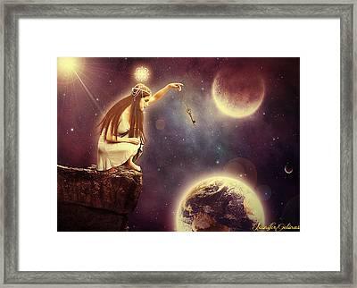 A Mother's Love Framed Print by Jennifer Gelinas