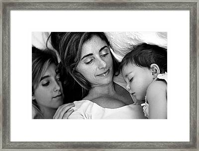 A Mother's Love Framed Print by Kathy Yates