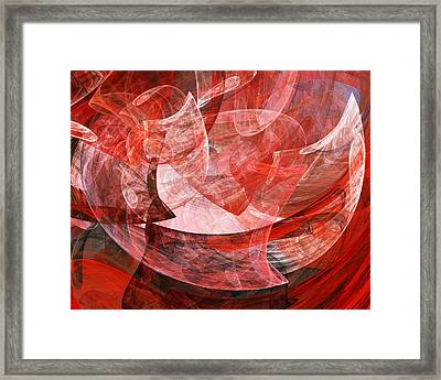 A Mothers Womb . A120422.446 Framed Print by Wingsdomain Art and Photography