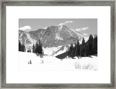 A Mountain Is A Buddha Framed Print