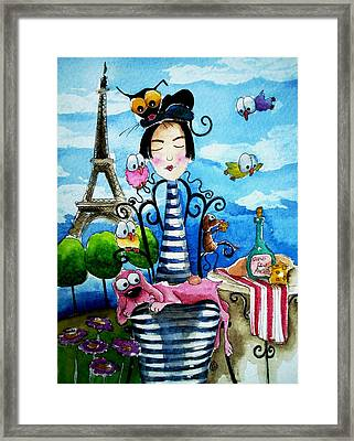 A Moveable Feast Framed Print