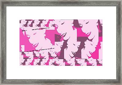 A Multitude  Framed Print
