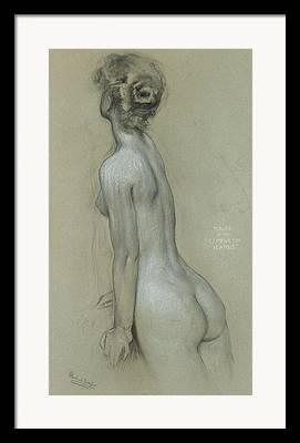Au Naturel Framed Prints