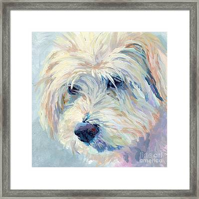 A Natural Blonde Framed Print by Kimberly Santini