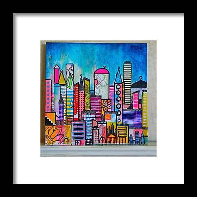 Cityscape Framed Prints