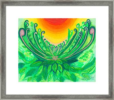A New Beginning Framed Print