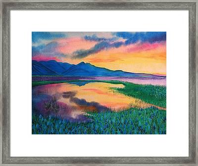 A New Beginning Framed Print by Ramneek Narang