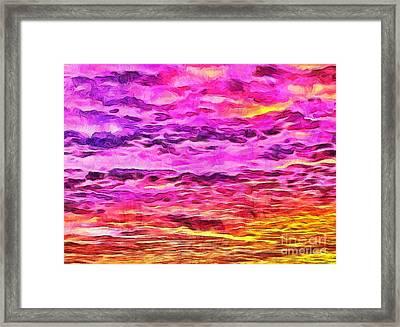 A New Dawn Framed Print by Krissy Katsimbras