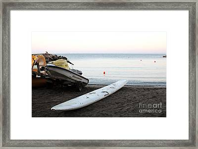 A New Day Begins Framed Print by John Rizzuto