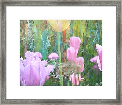 A New Day Framed Print by  Cid