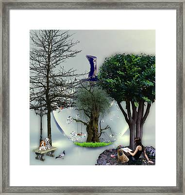 A New Day In Paradise Framed Print